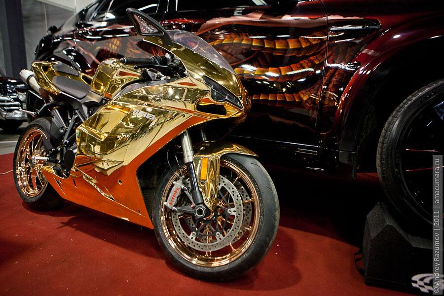 Ducati Петербургкий автосалон 2011