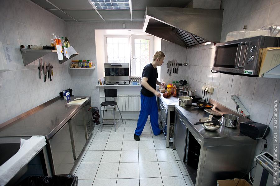Кафе Студии Артемия Лебедева