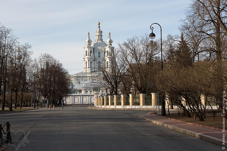 Воскресенский Смольный Новодевичий монастырь
