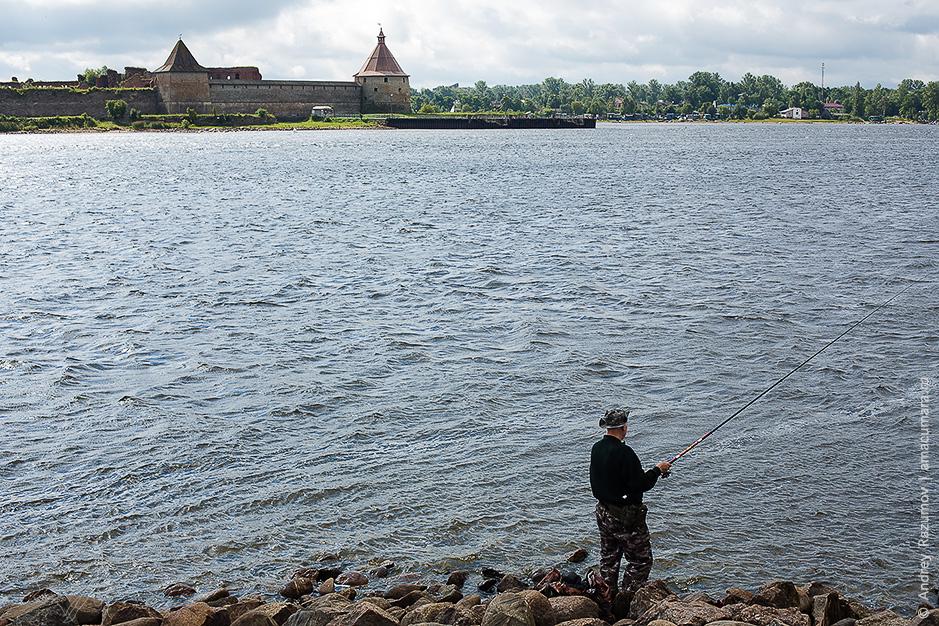 Крепость Орешек летом