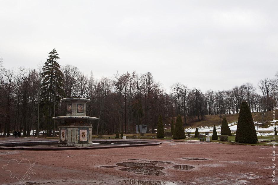 Петергоф зимой
