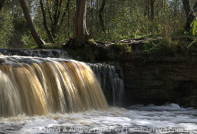 Знаменитые водопады в Ленинградской области