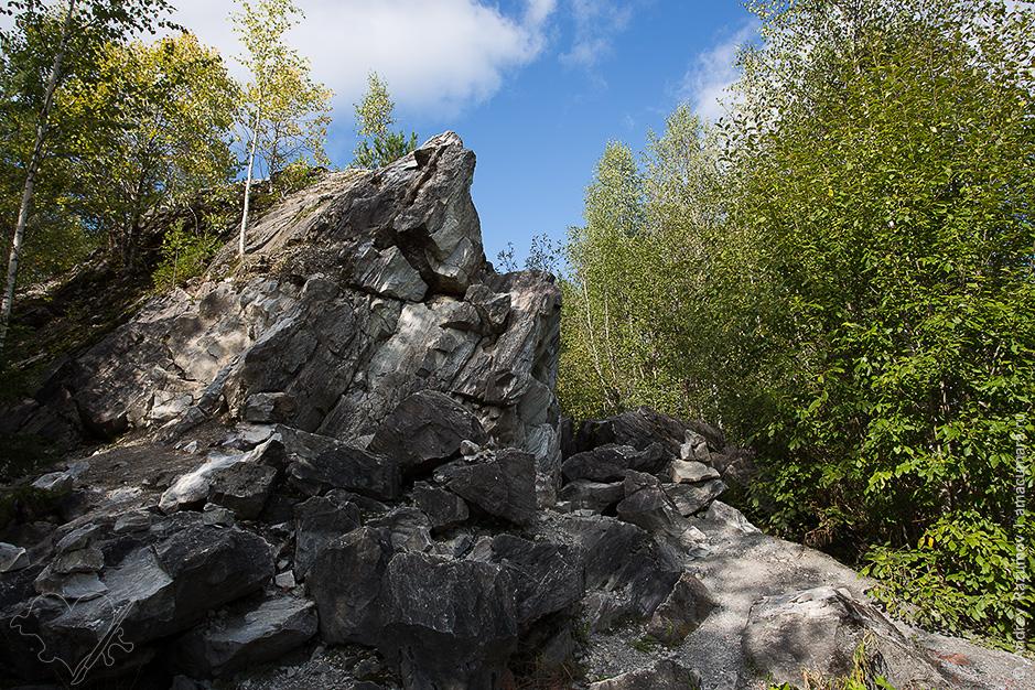 Скальный парк Рускеала в Карелии