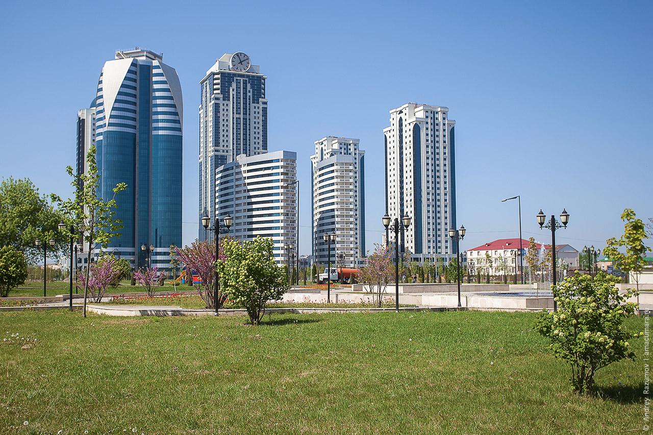 Грозный Чечня Достопримечательности