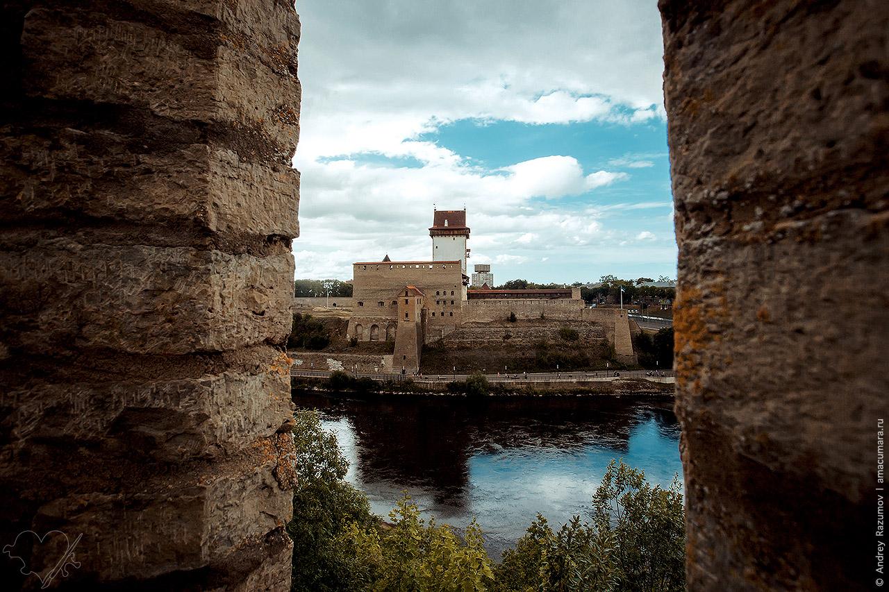 Эстонская крепость Нарва
